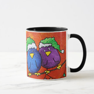 LimbBirdのクリスマスのコーヒーカップ マグカップ
