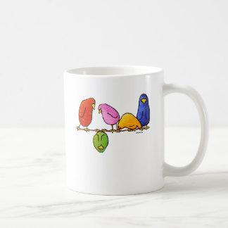 LimbBirdのコーヒーのマグ コーヒーマグカップ
