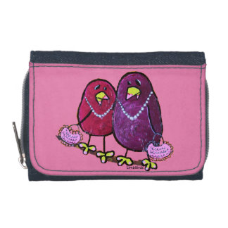 LimbBirdsのデニムの財布および硬貨の財布 ウォレット