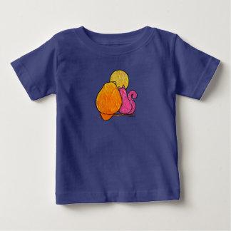 LimbBirdsの乳児のTシャツ ベビーTシャツ