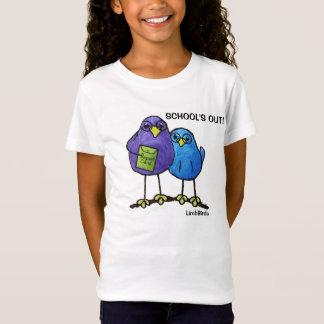 LimbBirdsの女の子のTシャツ Tシャツ