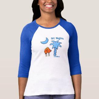 LimbBirdsレディース3/4枚の袖のRaglanのTシャツ Tシャツ