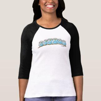 LimbBirdsレディースRaglan 3/4の袖のTシャツ Tシャツ