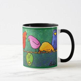 "LimbBirds ""Feelinか""。 コーヒーカップ"