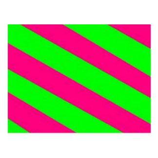 limegreen-hotpink ポストカード