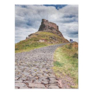Lindisfarneの城 フォトプリント