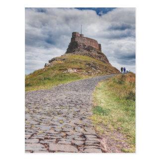 Lindisfarneの城 ポストカード