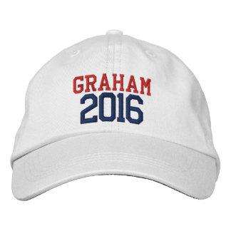 Lindseyグラハムの大統領2016年 刺繍入りハット