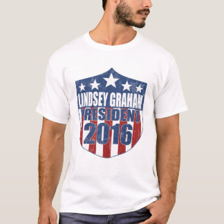 Lindseyグラハムの大統領2016年 Tシャツ