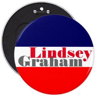 Lindseyグラハム2016年 15.2cm 丸型バッジ