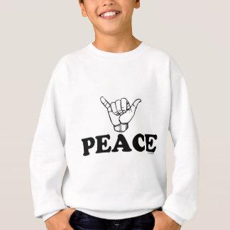 LineAの平和Shaka スウェットシャツ
