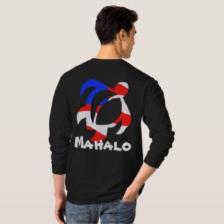 LineA米国Mahalo Honu Tシャツ