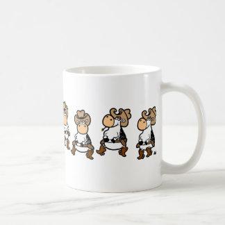 Linedancing牛 コーヒーマグカップ