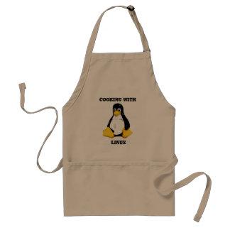 Linuxとの調理 スタンダードエプロン