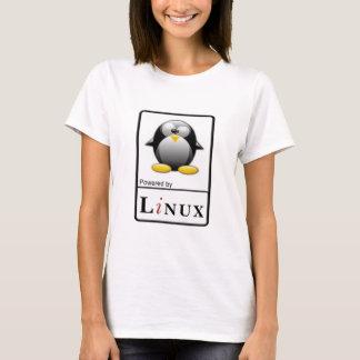 Linuxによって動力を与えられる Tシャツ