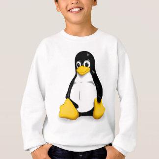 Linuxのタキシードメンズ長袖のスエットシャツ スウェットシャツ