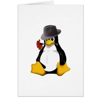 Linuxのタンゴ カード