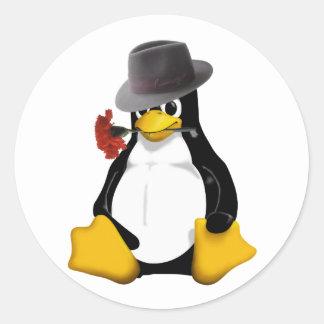 Linuxのタンゴ ラウンドシール