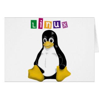 Linuxのプロダクト及びデザイン! カード