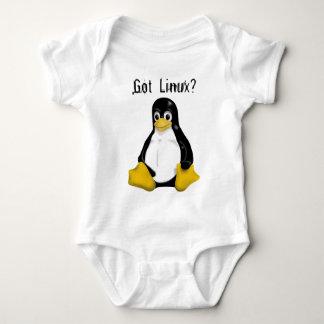 Linuxのプロダクト及びデザイン! ベビーボディスーツ