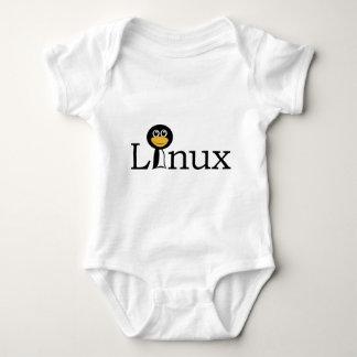 Linuxのペンギン! ベビーボディスーツ