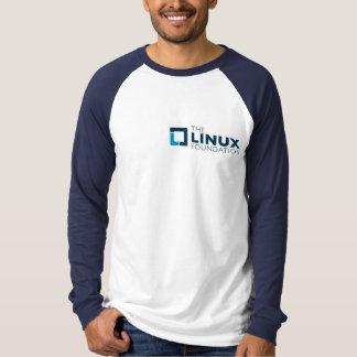 Linuxの基礎旅行資金のTシャツ Tシャツ
