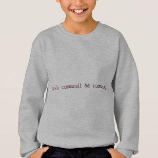 Linuxの強打のキャンディ・ケーン スウェットシャツ