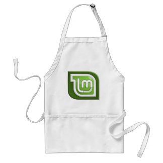 Linuxの真新しいロゴ スタンダードエプロン