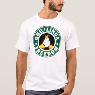 Linuxの自由 Tシャツ