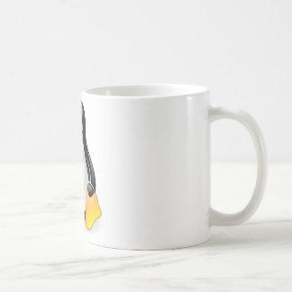 Linuxペンギンタキシード コーヒーマグカップ