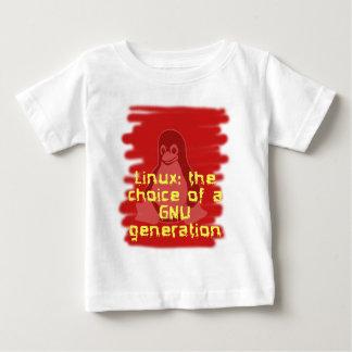 Linux: GNUの生成の選択 ベビーTシャツ