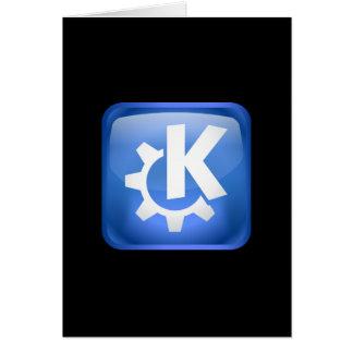 Linux KDE カード