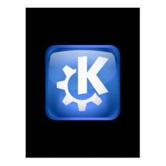 Linux KDE ポストカード