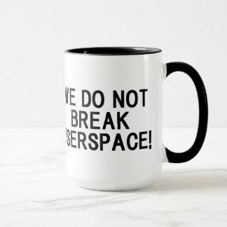 "LINUX KERNEL ""WE DO NOT BREAK USERSPACE!"" マグカップ"