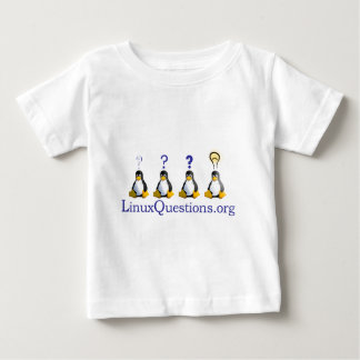 LinuxQuestions.orgのロゴ ベビーTシャツ