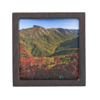 Linvilleの峡谷の秋の眺めは頻繁に呼びました ギフトボックス