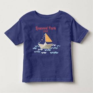 Linwood公園の2017年の幼児のTシャツ トドラーTシャツ