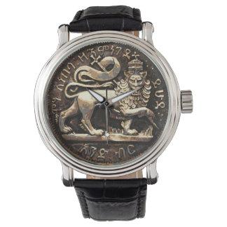 Lion of Judah Watch Ancient Lion Gold Design 腕時計