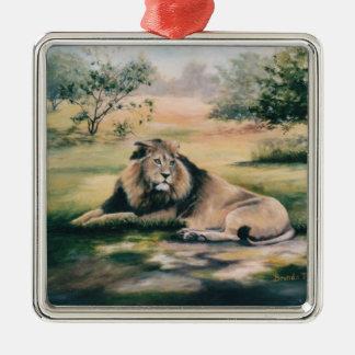 Lion Ornament王 メタルオーナメント