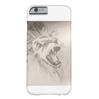 LionRoaringCellphoneCase Barely There iPhone 6 ケース