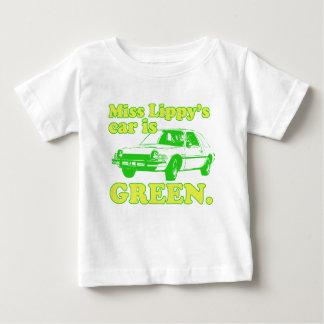 Lippy車 ベビーTシャツ