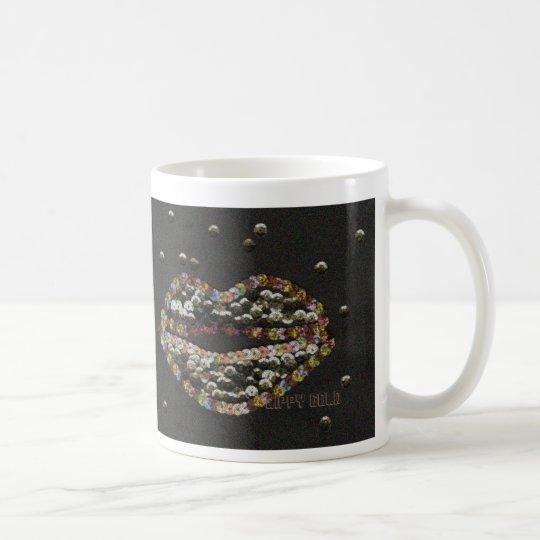 Lippy Gold コーヒーマグカップ