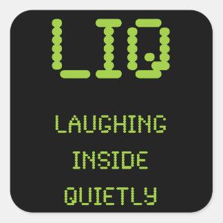 LIQ -静かに中笑うこと スクエアシール