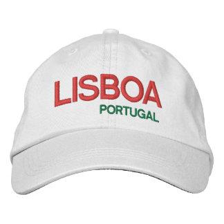 LISBOA*ポルトガルの帽子 刺繍入りキャップ