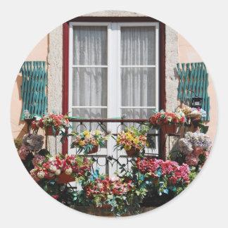 Lisbon´sの窓のバルコニー ラウンドシール
