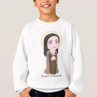 Lisieuxのかわいいカトリック教徒の聖者テレーズ スウェットシャツ