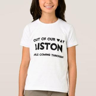 LISTONの私達の方法から、来ている女の子 Tシャツ
