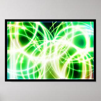 Litのガラス繊維ケーブル ポスター