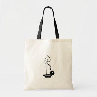 Litの蝋燭 トートバッグ