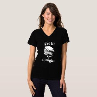 Litを…今夜得て下さい(本) Tシャツ